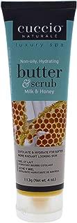 Cuccio Butter Scrub, Milk & Honey, 4 Oz