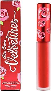Lime Crime Velvetines Liquid Matte Lipstick, Red Velvet - True Red - French Vanilla Scent - Long-Lasting Velvety Matte Lipstick - Won't Bleed or Transfer - Vegan
