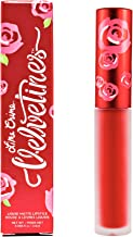 Lime Crime Velvetines Matte Liquid Lipstick, Red Velvet, 2.6