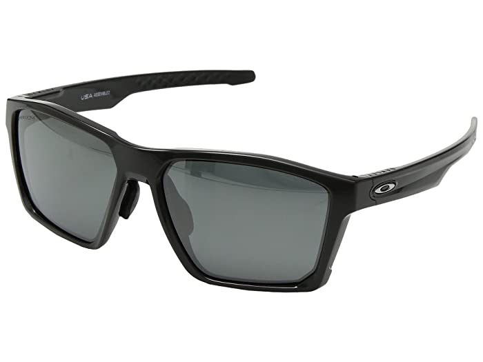 Oakley Targetline (A) (Carbon w/ Prizm Black) Athletic Performance Sport Sunglasses
