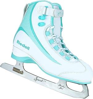 Riedell Skates - Soar Adult Ice Skates- Recreational Soft Beginner Figure Ice Skates