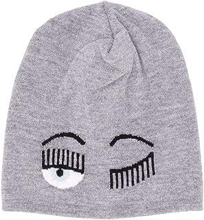 CHIARA FERRAGNI Luxury Fashion Womens CFC030GREY Grey Hat | Fall Winter 19