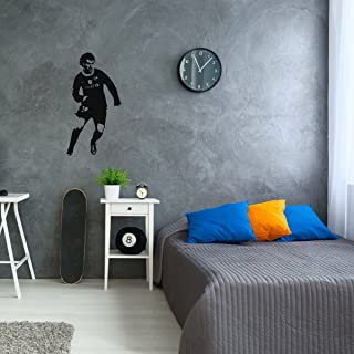 Messi Decal - Barcelona FC Wall Decor - Soccer Player Vinyl Wall Sticker for Fans,