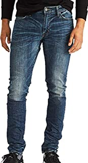 American Eagle Mens 360 Extreme Flex Slim Jean, Medium Tinted Indigo 26x28