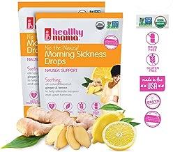 Healthy Mama Nip The Nausea! Organic Morning Sickness Relief Drops;Ginger Lemon. Nausea Relief from Morning Sickness, Chemo, Motion Sickness (2-Pack)