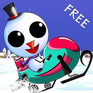Iceberg the Cute Snow Man : The Fun Free Winter Race Game - Free Edition