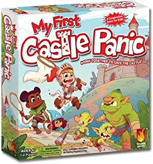 Fireside Games My First Castle Panic - Board Games for Kids - Board Games for Kids 3 and up