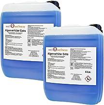 well2wellness Pool Prevenir Las Algas + Alguicida Extra 'Blue' 10,0L - Alta Concentración + sin Espuma