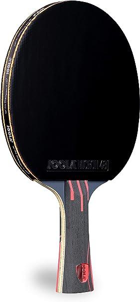 JOOLA Infinity Overdrive – desempenho profissional Ping Pong Paddle com tecnologia Kevlar de carbono – borracha preta em ambos os lados