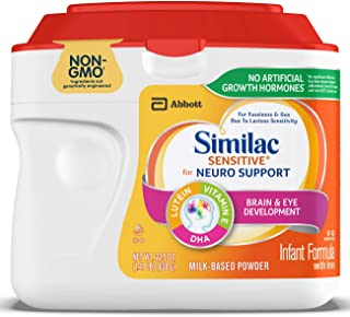 Similac Sensitive Non-GMO Infant Formula, Powder, 22.6 Ounce