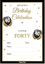 Best 40th birthday invitations for her Reviews