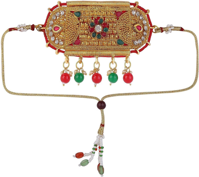 Efulgenz Indian Bollywood Vintage Ethnic Gold Plated Armlet Armband Upper Arm Bangle Bracelet Bridal Jewelry