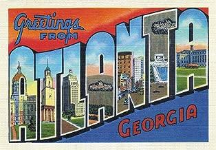 Greetings from Atlanta, Georgia, GA, US, Souvenir Magnet 2 x 3 Fridge Photo Magnet