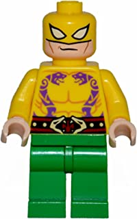 Lego Iron Fist mashup. Torso is a variation from original. 100% Lego parts
