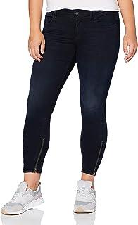 G-STAR RAW Lynn 2-Zip Mid Waist Ankle_Skinny Jeans Vaqueros Mujer