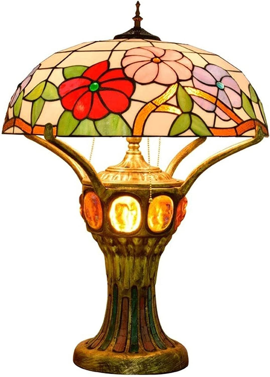 YiCan Price reduction Chandelier Table Lamp Petunia Room Bedro Classic High-Grade Living