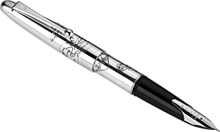PILOT Namiki Sterling Collection Fountain Pen, Mount Fuji Design Barrel, Fine Nib (60684)