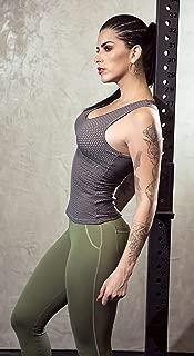 Dynamite Fitness Wear Brazilian Workout Legging - Round Pockets Torpedo Green