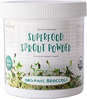 Superfood Sprout Powder - Raw Organic Freeze Dried Broccoli - Sulphoraphane Extract - 100% Pure, Vegan, Non-GMO, Gluten Fr...