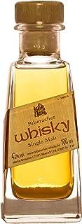 Biberacher Whisky 1 x 0.1 l Single Malt 42% Vol. deutscher Whisky aus dem Schwarzwald - Miniatur Probierfläschchen - Mini Probier Flasche ideal als Geschenk