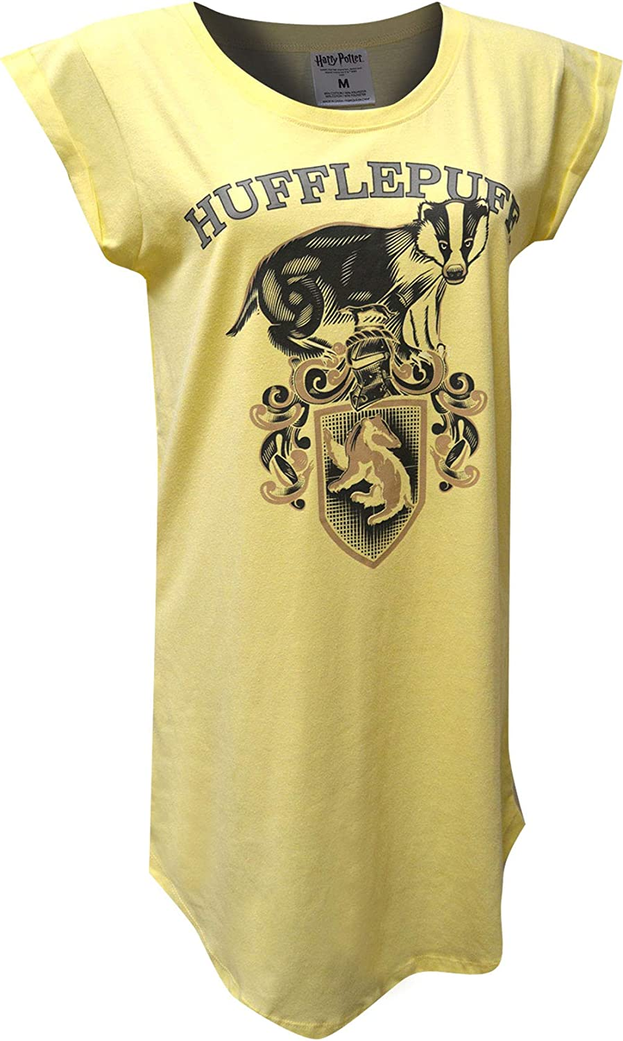 Harry Potter Women's Popular products Hufflepuff All items in the store House Mascot Ladies Nightshirt