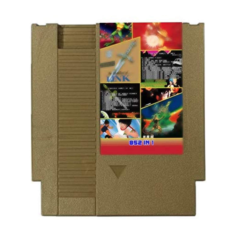 852 in 1 NES Super Games Multi Cart Pin Ranking TOP9 - Game 8 Car bit trust Gold 72