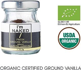 Naked Organic Fresh Ground Vanilla, 12.5 g