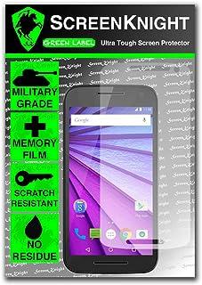 ScreenKnight® Motorola Moto G 2015 främre skärmskydd osynlig sköld