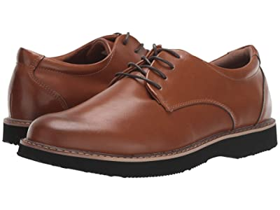 Deer Stags Walkmaster Plain Toe Oxford (Dark Tan) Men