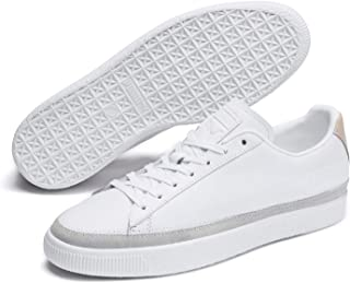 PUMA Basket Trim Block Unisex Sneakers, White White