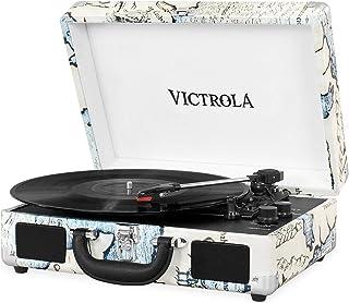 Victrola Suitcase Tocadiscos en maleta Vintage Bluetooth -