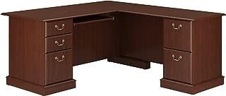 Bush Furniture Saratoga L Shaped Computer Desk in Harvest Cherry