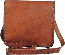 Leather bag Fair Deal / Full flap bag / laptop bag / best computer shoulder briefcase / Handmade leather bag messenger bag for I pad / brown bag