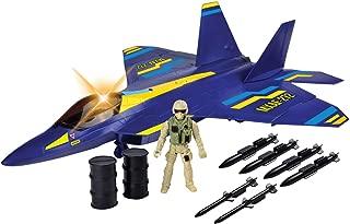 Motor Max Electronic F-22 Raptor Fighter Jet (Light & Sound)