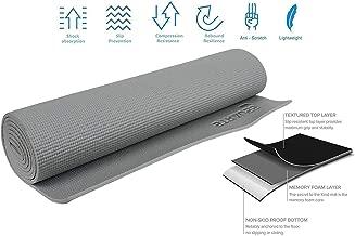 STRAUSS Unisex Adult ST-1401 Yoga Mat - Grey, 4 mm