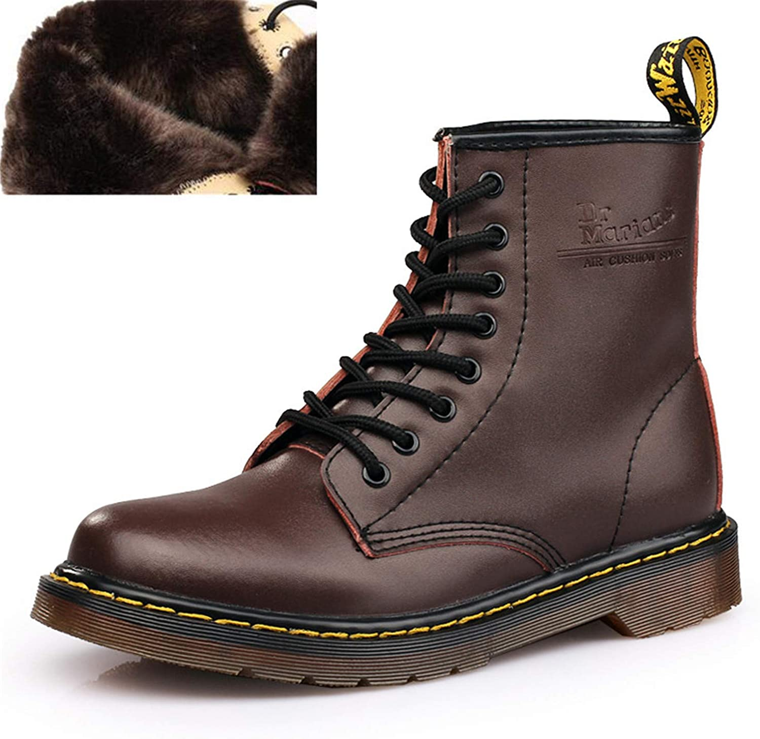 Men's Boots Winter Warm shoes Motorcycle Keep Warm Mens Ankle Boot Fur Men Oxfords shoes