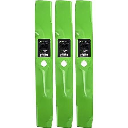 "3 Pk Mower Blades Fits John Deere F-725 325 335 345 425 M115496 54/"" Deck"