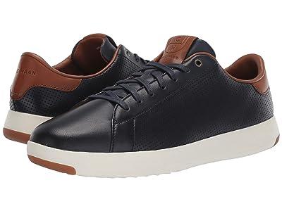 Cole Haan GrandPro Tennis Sneaker (Navy Handstain Perf) Men