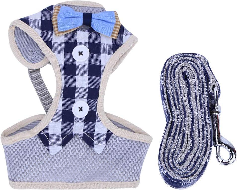GLOGLOW Pet Super sale period limited Harness Leash Set Vest-St Arlington Mall Polyester Mesh Breathable