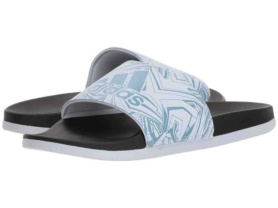 adidas Adilette CF+ GR (Aero Blue/Black/Ash Blue) Women
