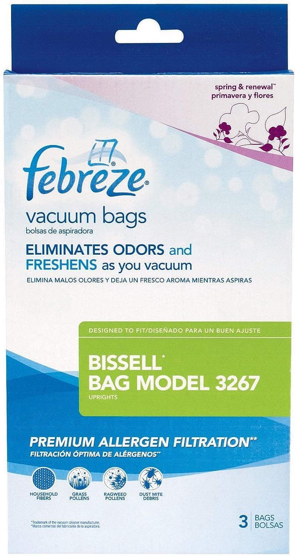 Bissell Febreze Max price 75% OFF Vacuum 3 Bag ct