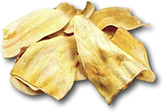 Cow Ears Jumbo Thick 10 Pack - Huge Top Dog Chews. No Additives, Chemicals or Hormones - USDA/FDA Inspected