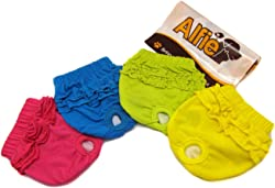 Alfie Pet - BAMI Diaper Dog Sanitary Pantie (for Girl Dogs)