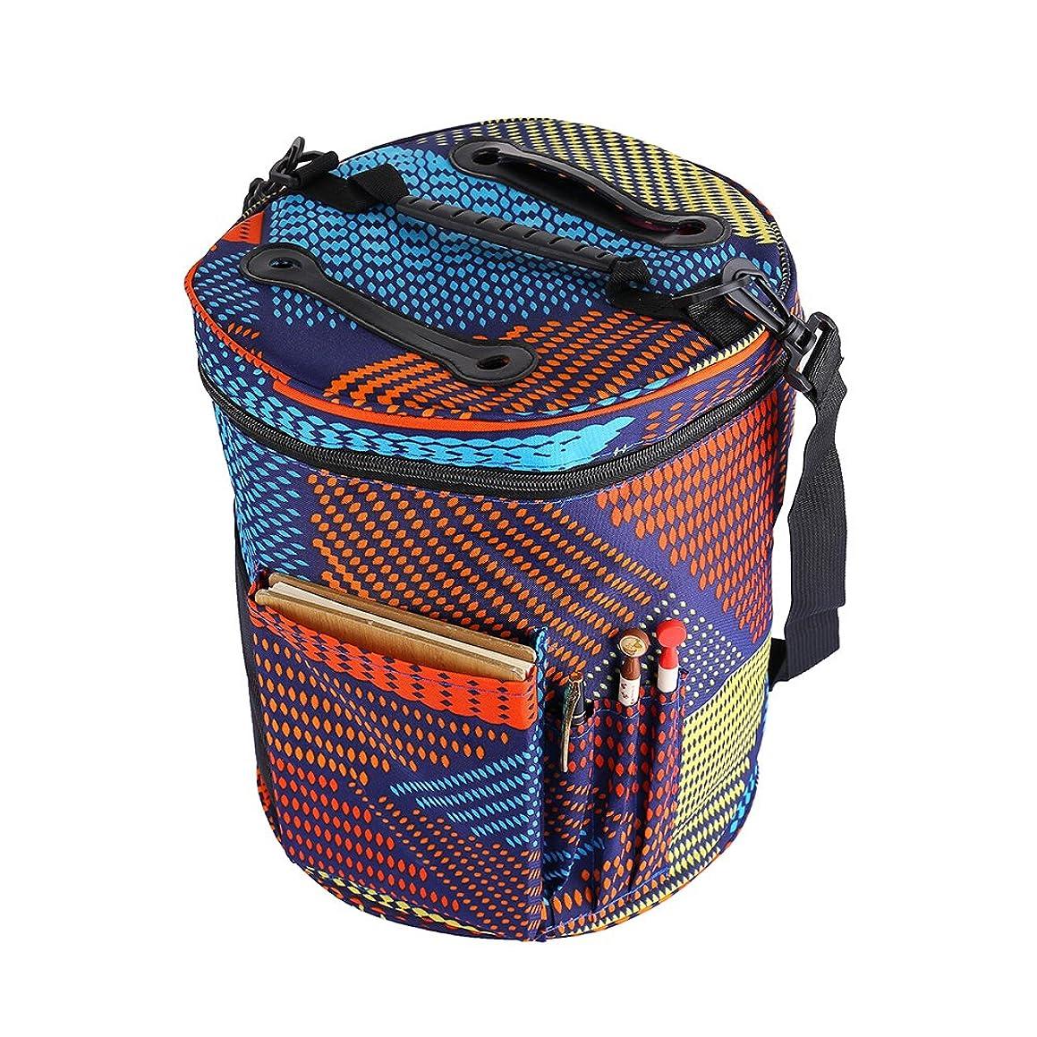 Yarn Bag Knitting Bag Crochet Bag Yarn Storage Organizer Large Yarn Knitting Tote Bag Knitting Storage Bag Large Tote Bag for Storage Yarn Knitting & Crochet Accessories Bag 【Oxford Cloth】
