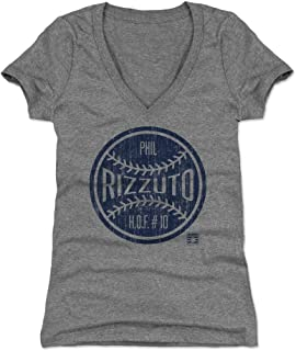 500 LEVEL Phil Rizzuto Women's Shirt - Vintage New York Baseball Shirt for Women - Phil Rizzuto Ball