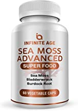 Sea Moss Capsules with Burdock Root