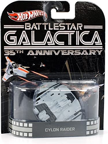 Hot Wheels  Battlestar Galactica  Cylon Rider 35th Anniversary 1 64 Scale