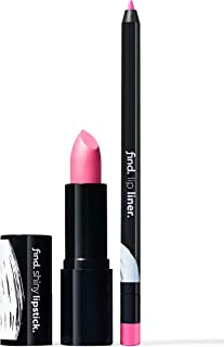FIND - Pink Attraction (Barra de labios brillante n.5 + Perfilador de labios n.10)