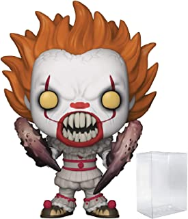 Funko Horror: Stephen King's It - Pennywise with Spider Legs Pop! Vinyl Figure (Includes Compatible Pop Box Protector Case)