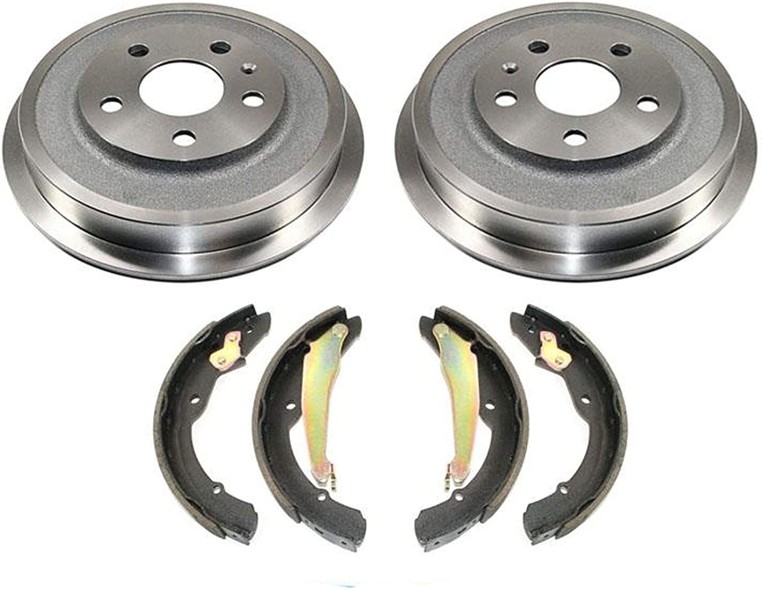 High order 2 Brake Drums Shoes 11-12 for Jetta Re Bombing free shipping 2.5L 2.0L With VW